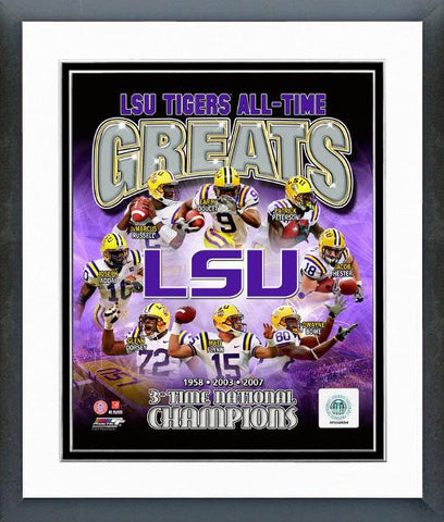 College-LSU All-Time Greats - National Memorabilia