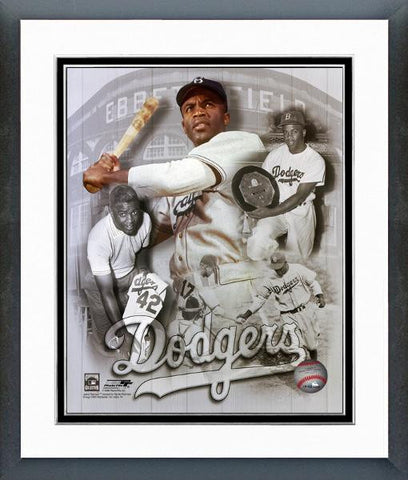 Dodgers-Jackie Robinson Legends Composite - National Memorabilia