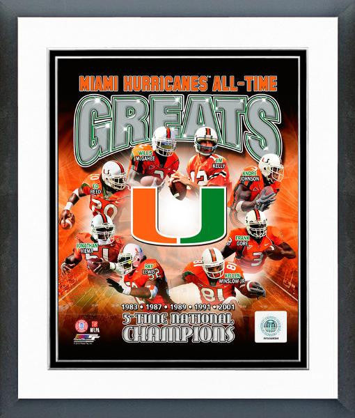 College-Miami Hurricanes All-Time Greats