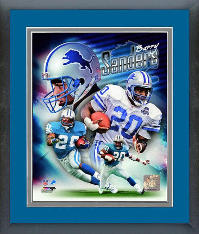 Lions-Barry Sanders Portrait Plus