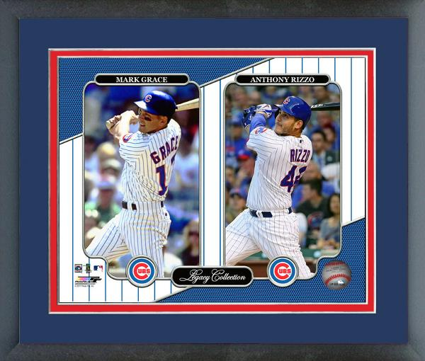 CUBS- Mark Grace & Anthony Rizzo Legacy Collection