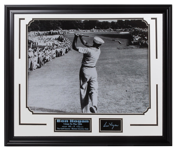 Golf-Ben Hogan 1-Iron Shot 1950 US.Open