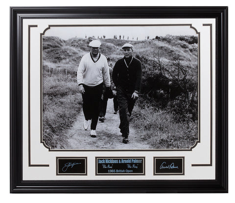 Golf-Jack Nicklaus & Arnold Palmer 1965 British Open - National Memorabilia