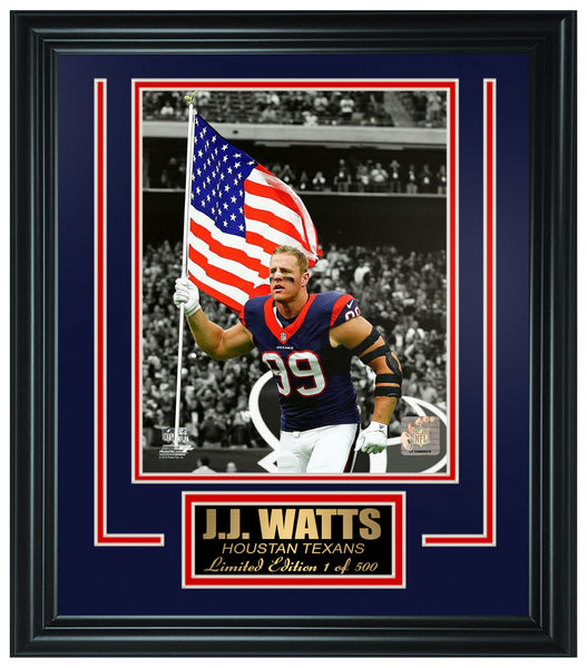 Houston Texans - J.J.Watt Limted Edition Frame FTSSN180