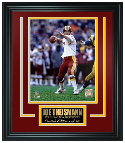 Washington Redskins- Joe Theismann Limited Edition Frame FTSGZ059