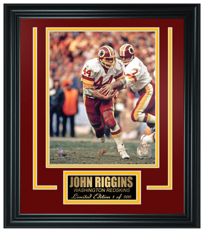 Washington Redskins- John Riggins Limited Edition Frame FTSQC075
