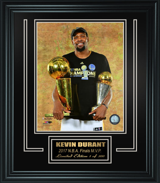 Golden State Warriors-Kevin Durant framed collage-FTSF003