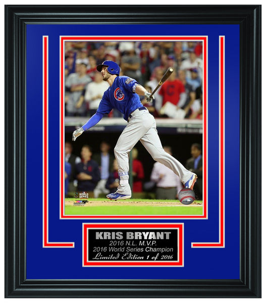 Chicago Cubs - Kris Bryant 2016 World Series Champions Framed Lt.Edition FTSTN029