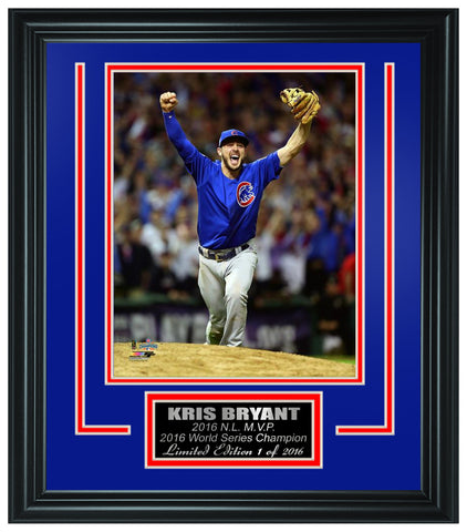 Chicago Cubs - Kris Bryant 2016 World Series Champion Framed Lt.Edition FTSTN069 - National Memorabilia