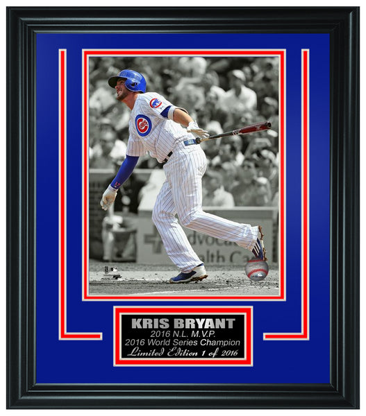 MLB Chicago Cubs - Kris Bryant 2016 World Series Champions Framed Lt.Edition FTSTM215