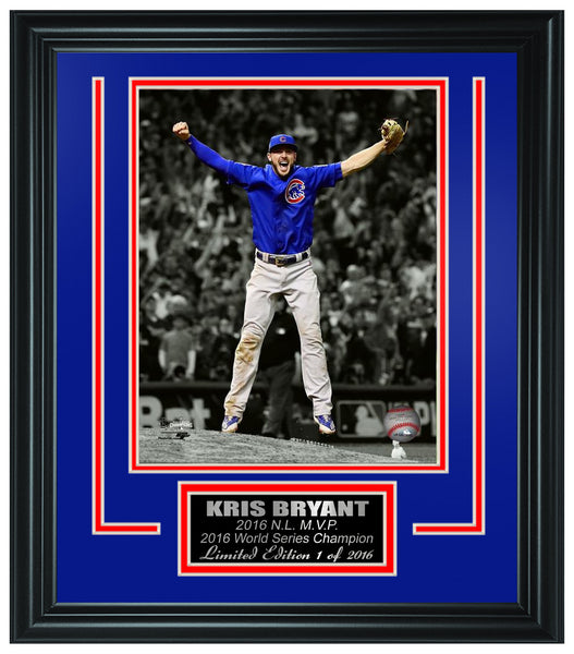 Chicago Cubs - Kris Bryant 2016 World Series Champions Framed Lt.Edition FTSTN083