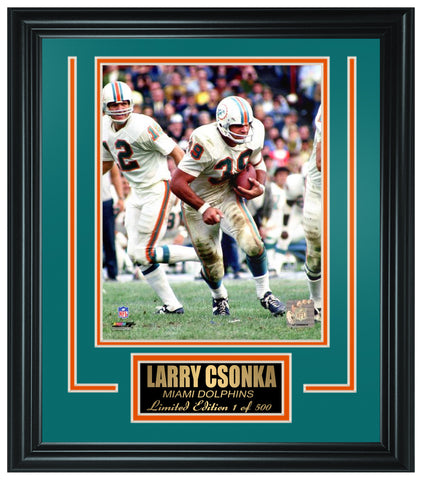 Miami Dolphins Larry Csonka Limited Edition Frame FTSNU185