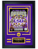 College Louisiana State University- LSU Tigers All-Time Greats Limited Edition Collage