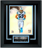 Luke Kuechly Limited Edition Frame. FTSTJ039