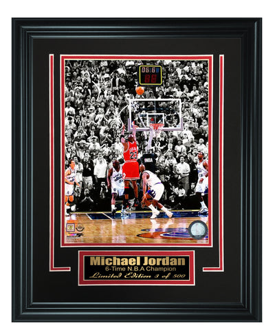Chicago Bulls-Michael Jordan Framed 8x10 Photo Code FTSRN147 - National Memorabilia