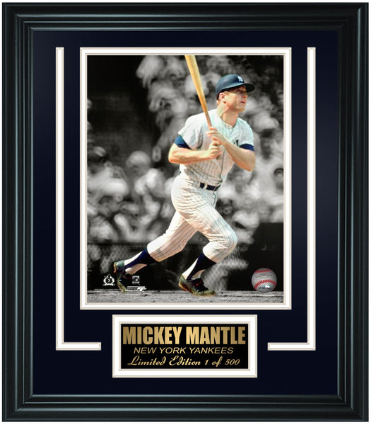 New York Yankees Mickey Mantle Limited Edition Frame. FTSLX224