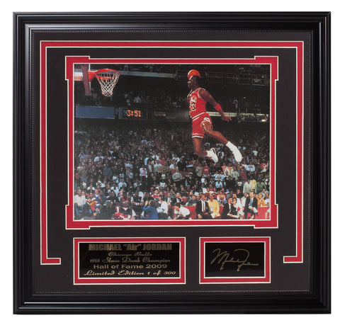 Chicago Bulls Michael Jordan 1988 Slam Dunk Contest - National Memorabilia