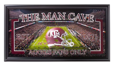 College-Texas A&M- Man Cave - National Memorabilia