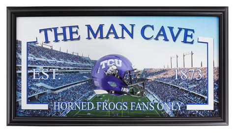 College-TCU-Man Cave - National Memorabilia