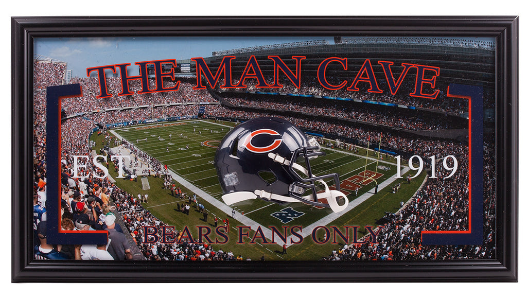Chicago Bears Man Cave | Frame The Stars
