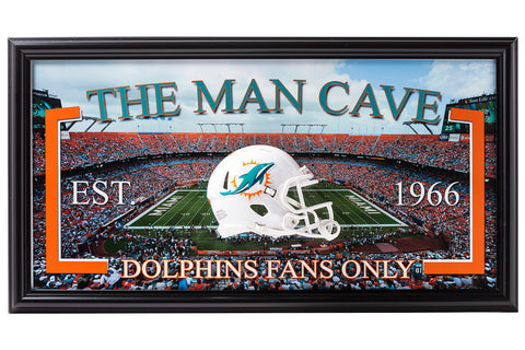 NFL-Miami Dolphins-Man Cave