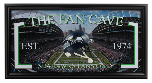 Seattle Seahawks- Seahawks Man Cave