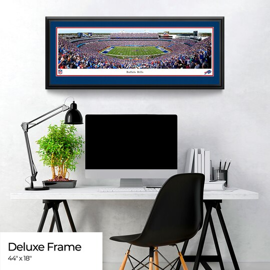 Buffalo Bills Panoramic Poster - NFL Fan Cave Picture