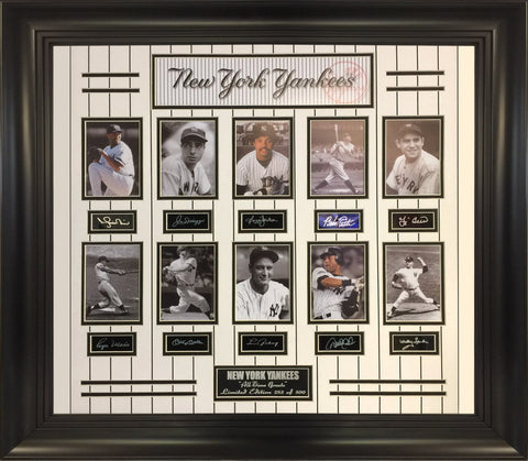 MLB- Yankees All-Time Greats 10-photo Collage.