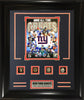 Rings Frames- New York Giants 4-Time Super Bowl Champion All-Time Greats