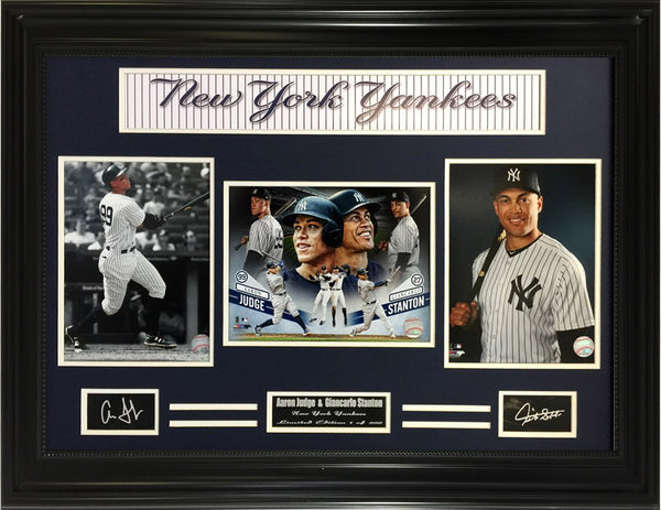 MLB - Aaron Judge & Giancarlo Stanton Yankees Dynamic Home Run Duo.