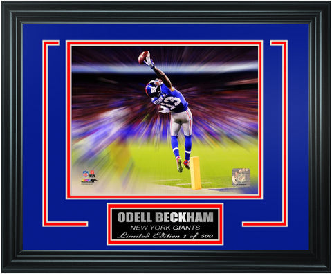 New York Giants Odell Beckham Limited Edition Frame. FTSRM192