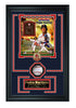 Boston Red Sox Pedro Martinez Autographed Baseball Shadow Box Frame. - National Memorabilia
