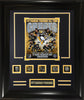 NHL Pittsburgh Penguins 5-Time Stanley Cup Champions All-Time Greats Frame