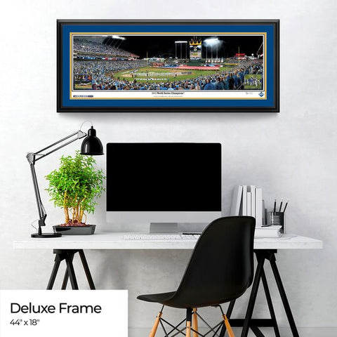 Kansas City Royals Panoramic Picture - 2015 World Series Champions - Kauffman Stadium MLB Wall Decor