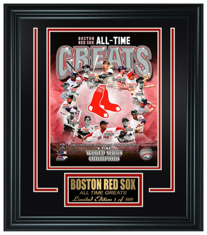 Red Sox - Sport Memorabilia & Collectibes | Frame The Stars