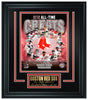 Boston Red Sox All-Time Greats Limited Edition Frame. FTSQI201 - National Memorabilia