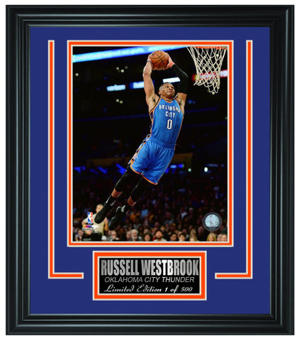 Oklahoma City Thunder- Limited Edition Frame FTSSR096