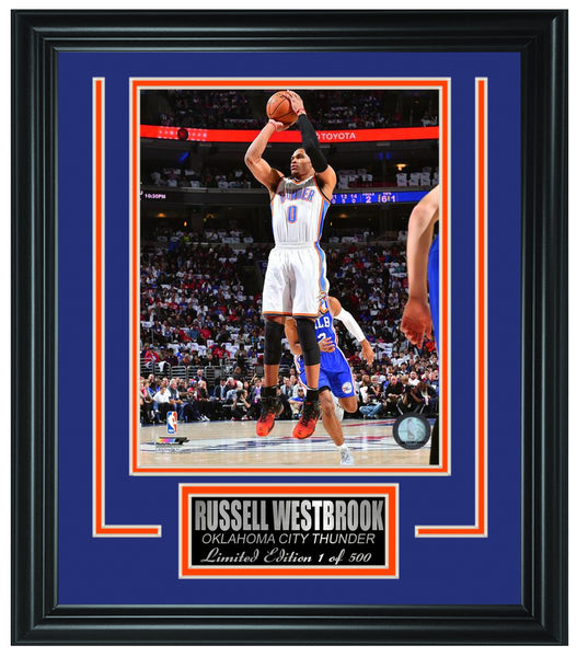 Oklahoma City Thunder-Russell Westbrook Limited Edition Frame FTSTN142