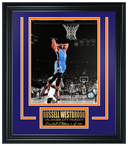 NBA Oklahoma City Thunder- Russell Westbrook Limited Edition Frame. FTSOR103