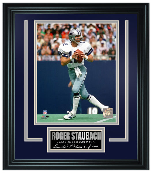 Dallas Cowboys - Roger Staubach Limited Edition Frame. FTSLN137