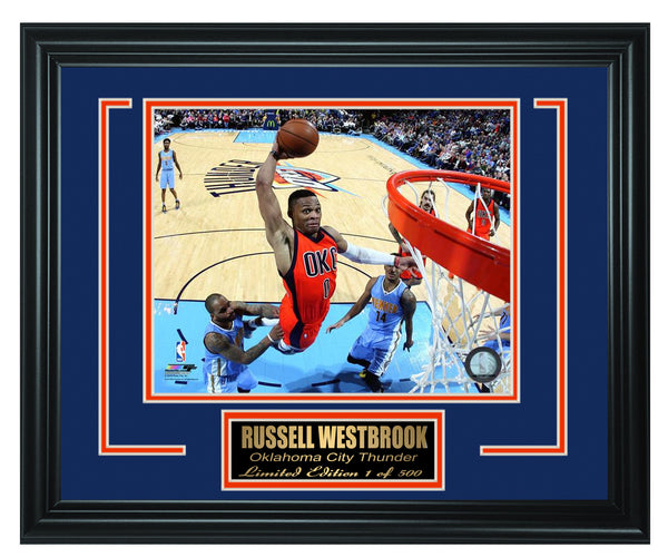 NBA Oklahoma City Thunder Russell Westbrook Limited Edition Frame. FTSSP110