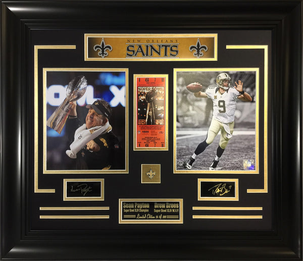 Saints Super Bowl Champions 2-Photo Composite.