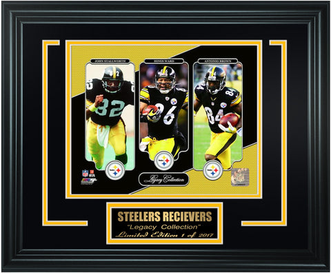Pittsburgh Steelers- Wide Receivers Legacy Limited Edition Frame. FTSTP029