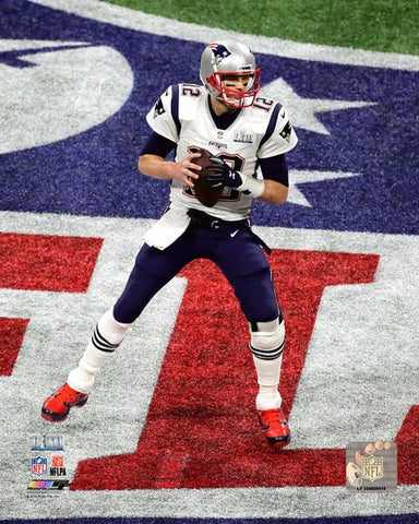 New England Patriots Tom Brady Super Bowl LIII 8x10 VZ231