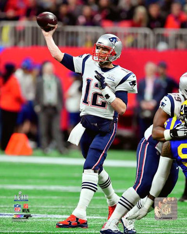 New England Patriots Tom Brady Super Bowl LIII 8x10 VZ229