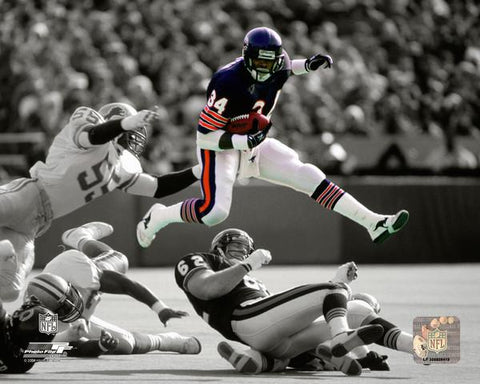 Chicago Bears Walter Payton Spotlight N.F.L.Licensed 8x10 Photo
