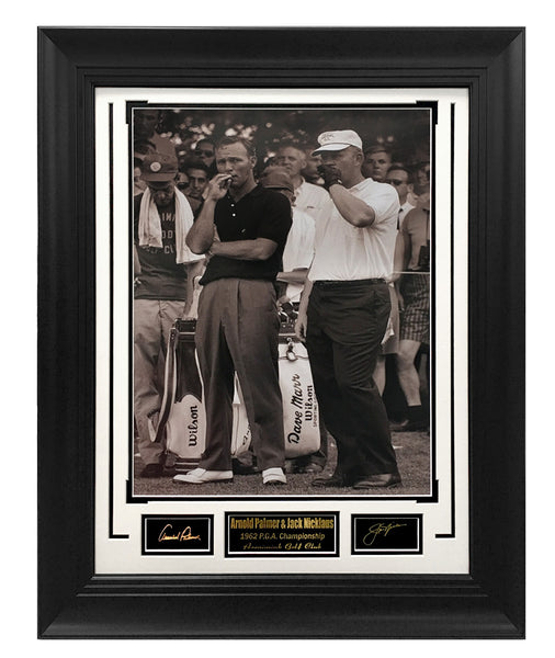 Golf-Arnold Palmer & Jack Nicklaus 1962 P.G.A. Championship