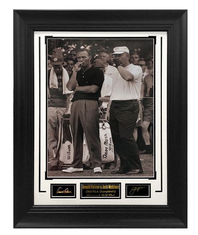 Golf-Arnold Palmer & Jack Nicklaus 1962 P.G.A. Championship - National Memorabilia