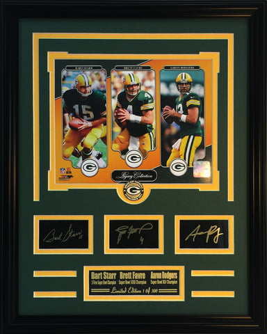 Green Bay Packers- Legacy Collage - National Memorabilia