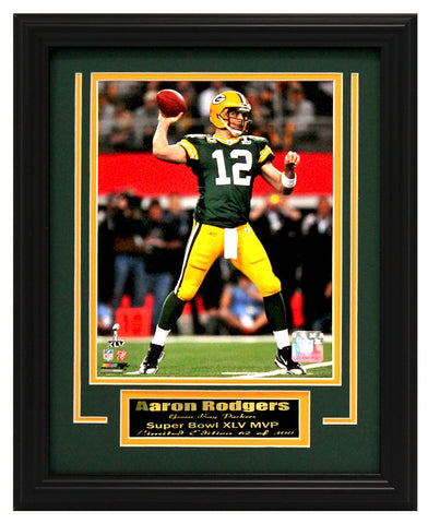 Packers-Aaron Rodgers Limited Edition 8x10 photo frame.